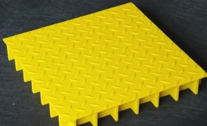 玻璃钢格栅,盖板,走道平台,防滑花纹盖板